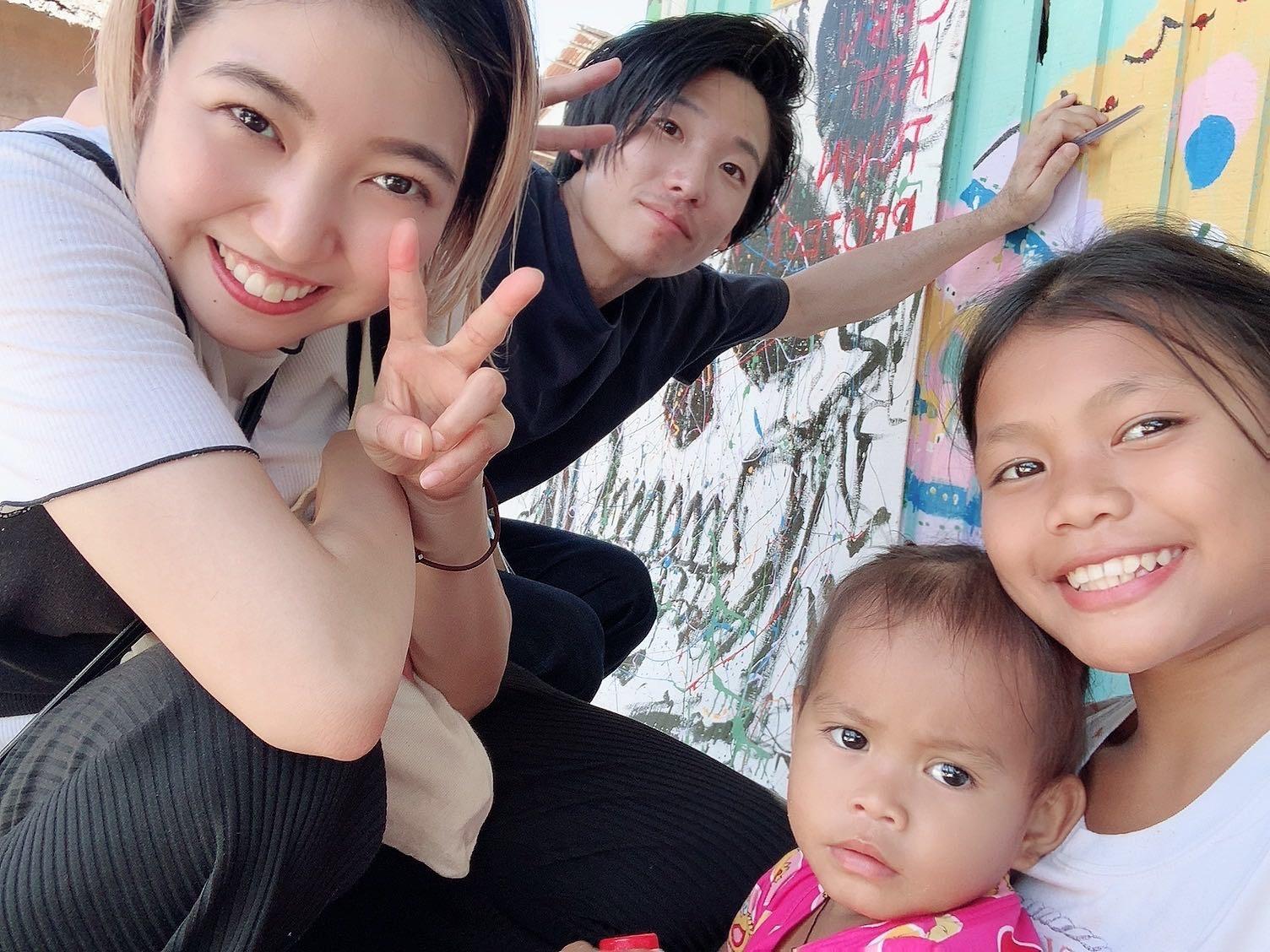 国際ボランティアカット & ヘアアレンジ in Cebu